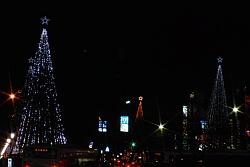 国立駅前大学通り商店会の クリスマスイルミネーション